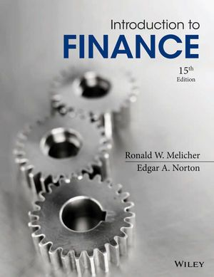 You Will download digital word/pdf files for Complete Solution Manual for Introduction to Finance: Markets, Investments, and Financial Management, 15th Edition by Ronald W. Melicher, Edgar A. Norton 9781118800737