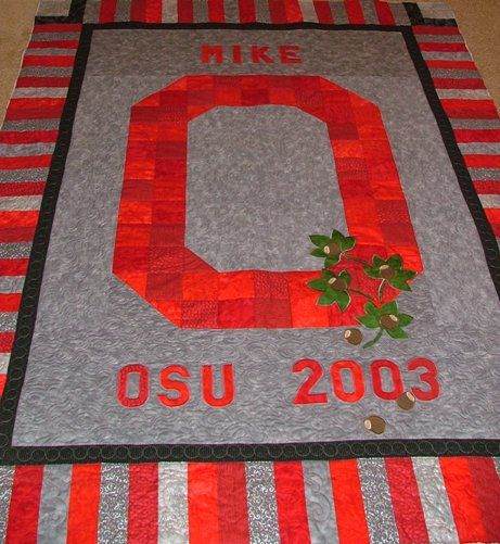 17 Best Images About Dalton's Ohio State Quilt By Shana On