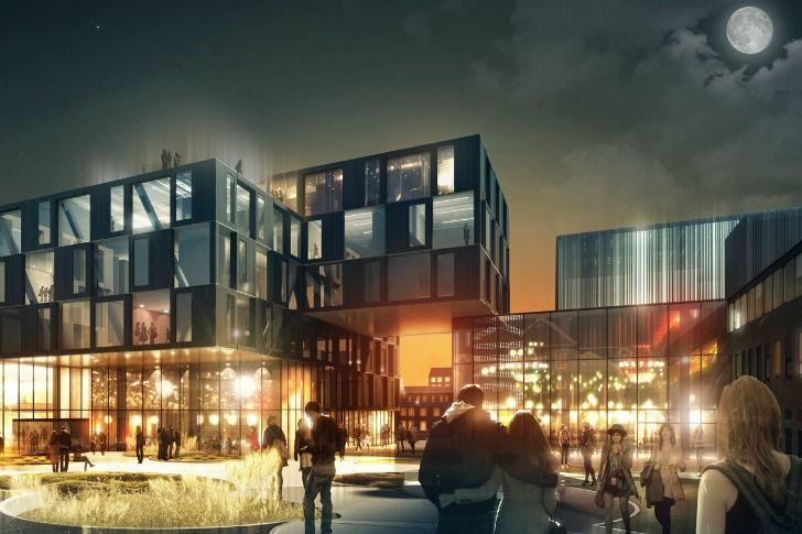 Henning Larsen ganha o primero lugar para o projeto de um Bairro Sustentável em Trondheim