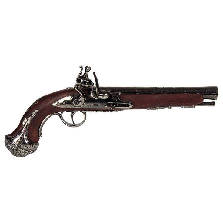 Deko-Pistole Holzgriff