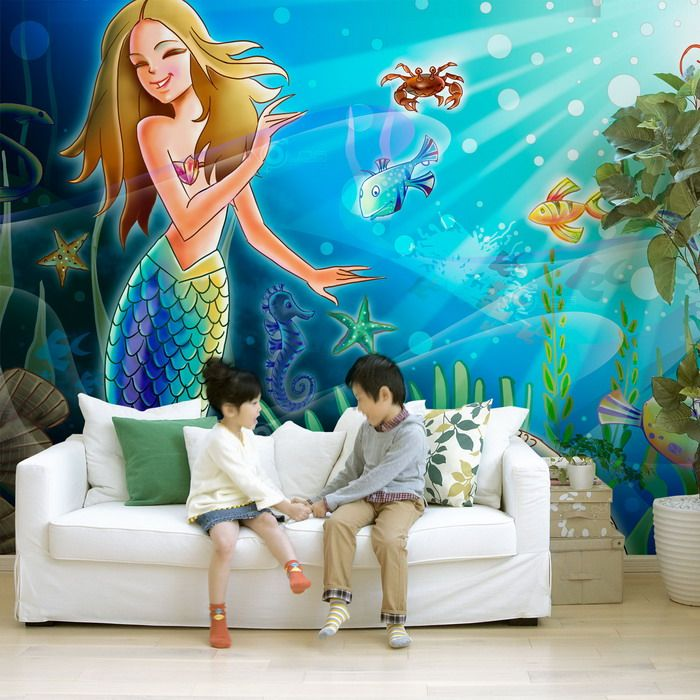 wall murals for your rooms cool mermaid wall murals ideas photos