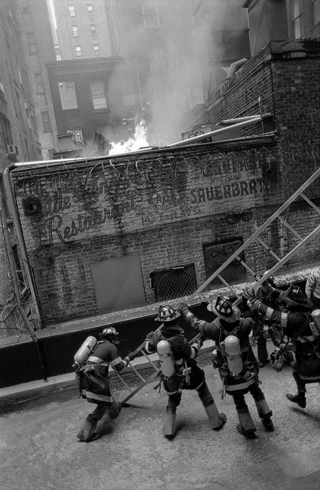 Jonas Damsgaard  `Firefighters´ from the series `New York Stories´