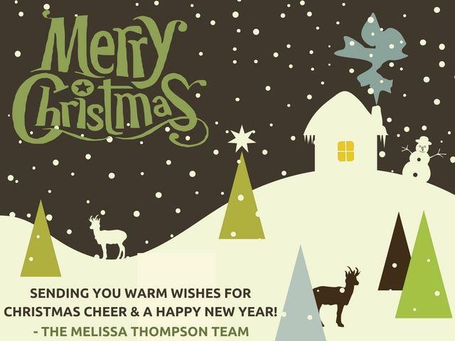 Merry Christmas And Happy New Year Merrychristmas Happynewyear Holidays Melissathompsonteam Christmas Cheer Christmas Wishes Christmas