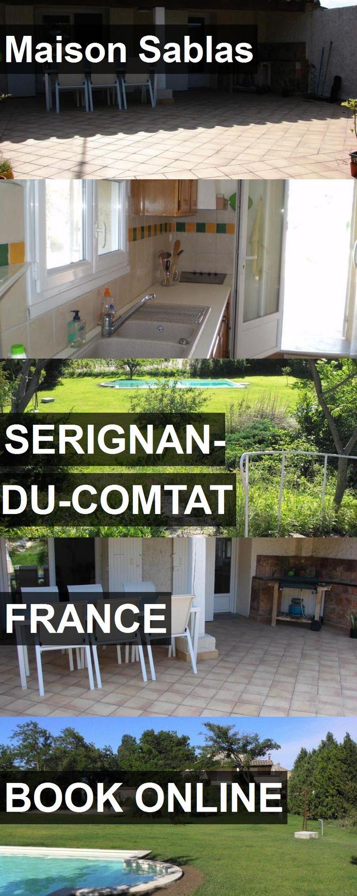 Hotel Maison Sablas in Serignan-du-Comtat, France. For more information, photos, reviews and best prices please follow the link. #France #Serignan-du-Comtat #travel #vacation #hotel