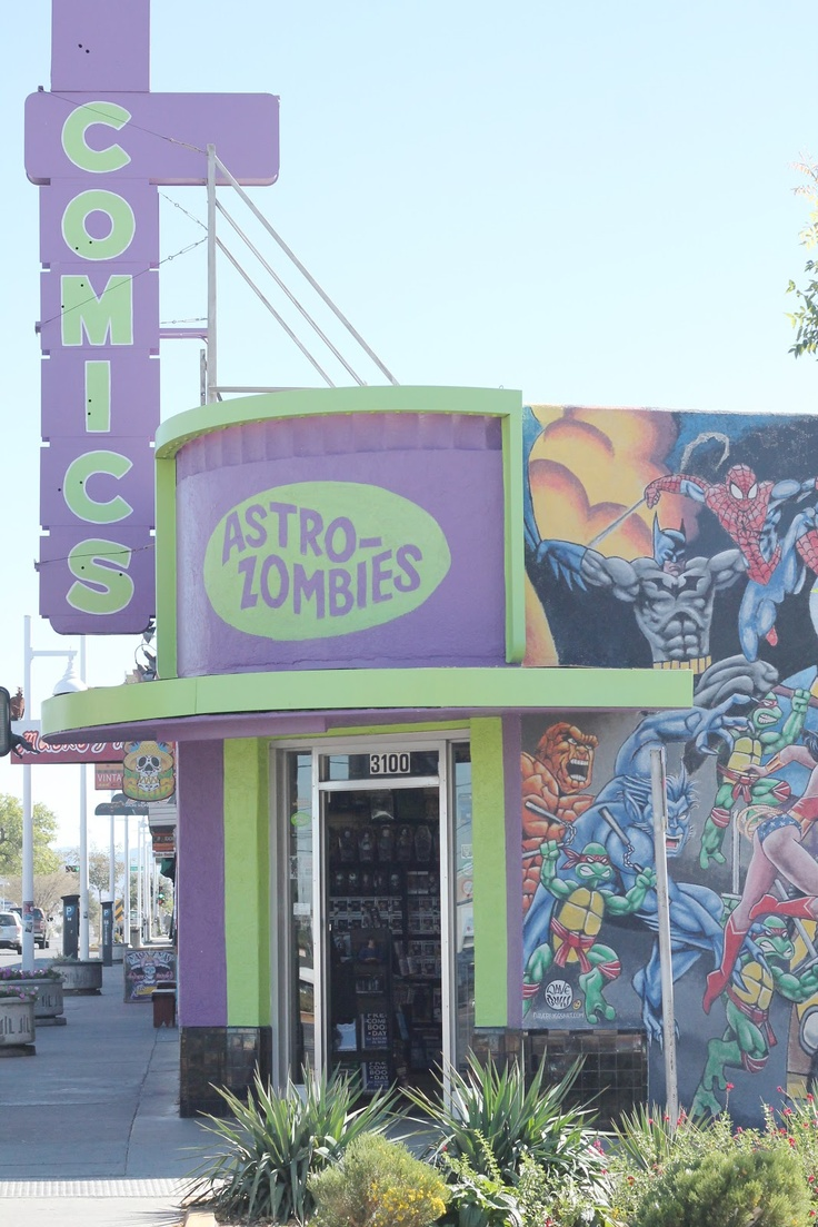 astro zombies comic book store