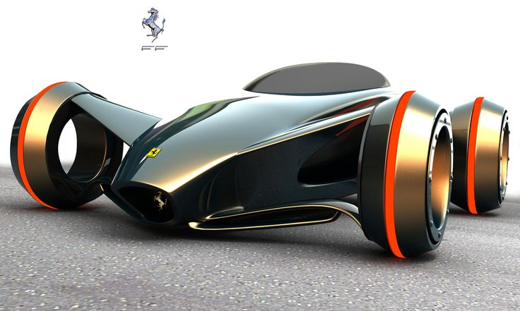 75 Concept Cars Of The Future Incredible Design - Designs Mag - Ferrari