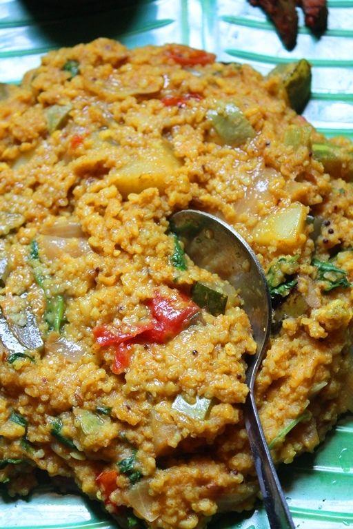 YUMMY TUMMY: Kuthiraivali Sambar Sadam Recipe / Barnyard Sambar Sadam Recipe - Barnyard Millet Recipes