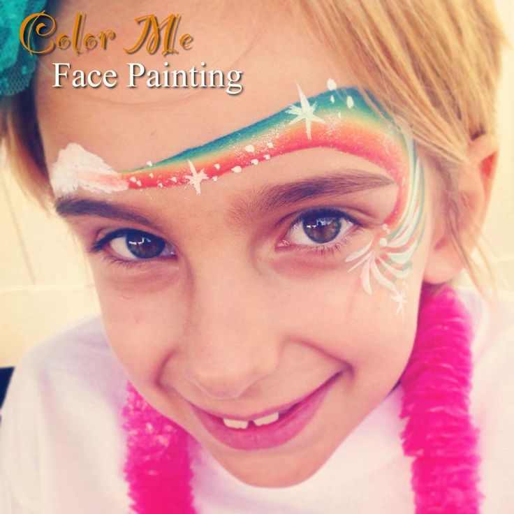 110 best Face Paint- Rainbow Ideas images on Pinterest ...
