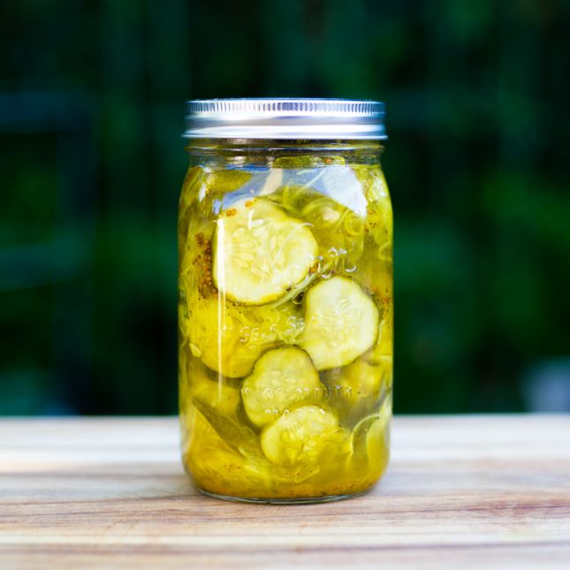 Bread and Butter Pickles | Bottled and Preserved | Pinterest