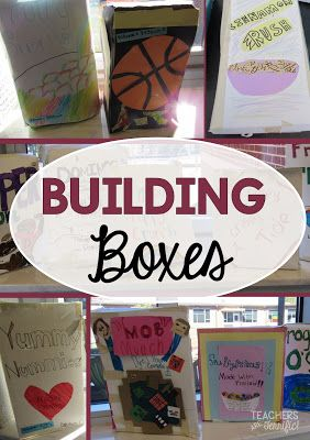 STEM Challenge: Students learn about volume and surface area and then try to build the box with the greatest volume possible- here's the trick: every group begins with the same size poster board for their box!