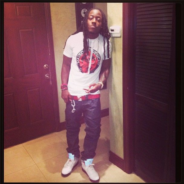 ace hood images | Male Celeb Fashion: Ace Hood Styles In A Maison Givenchy Tee-Shirt ...