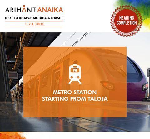 Arihant Anaika - Affordable housing in half the price of Kharghar Next to Kharghar, Taloja Phase II 1,2 & 3 BHK - Riverside County Metro Station starting from Taloja www.asl.net.in/arihant-anaika.html #ArihantAnaika #RealEstate #Kharghar #NaviMumbai #Property