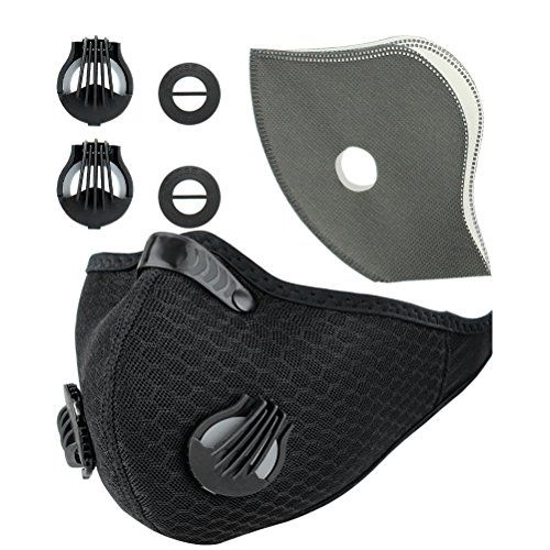 Activated Carbon Dustproof Mask Face Mask Filtration Exhaust Gas Anti Pollen Allergy PM2.5 Dust Mask Filter for Running Cycling Safety Masks for Men and Women #Activated #Carbon #Dustproof #Mask #Face #Filtration #Exhaust #Anti #Pollen #Allergy #Dust #Filter #Running #Cycling #Safety #Masks #Women