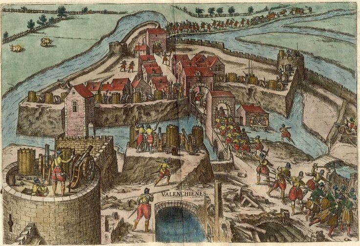 Michael Eytzinger. Siège de Valenciennes 1567.