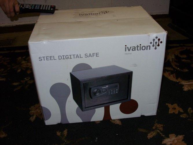 Brand New Ivation Steel Digital Safe 0 8 Cubic Feet Home Safety Box Digital Safe Home Safety Safety Box