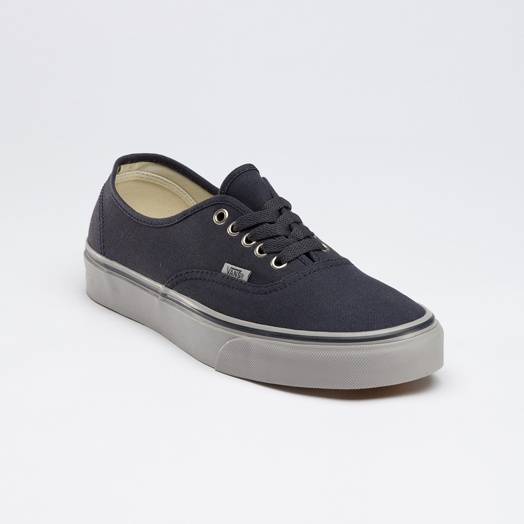 Vans Canvas Authentic in Ebony-Ice Gray