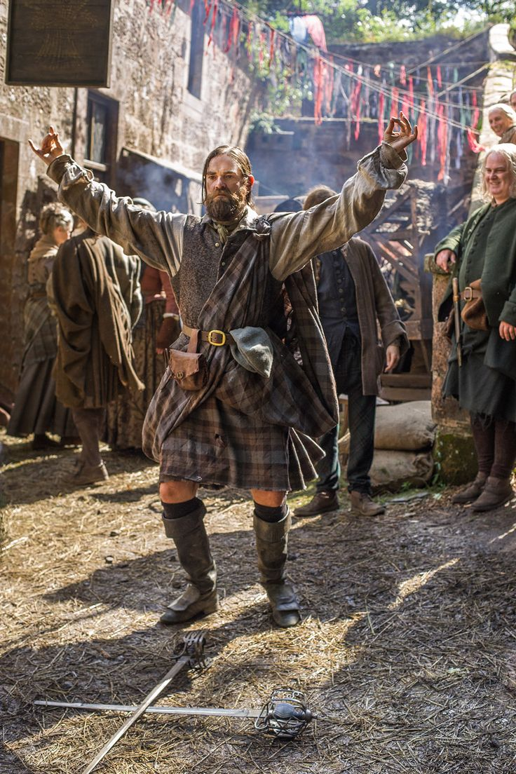 Murtagh performing his sword dance - The Search