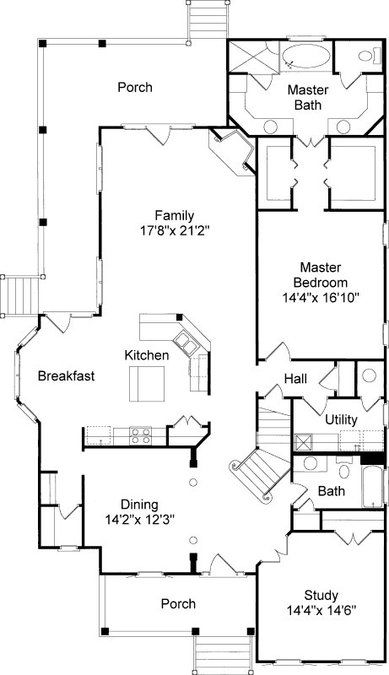 Best 25 charleston house plans ideas only on pinterest for Charleston style home floor plans