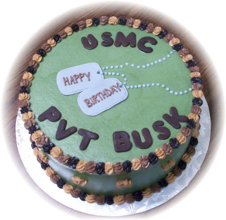 army themed birthday cakes  Military Themed Cake — Military ...
