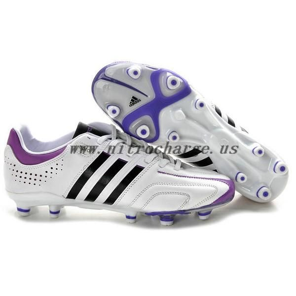 uk availability 0fa76 0a1af Kaka Adidas Adipure 11Pro TRX FG Soccer Cleats White Purple Black
