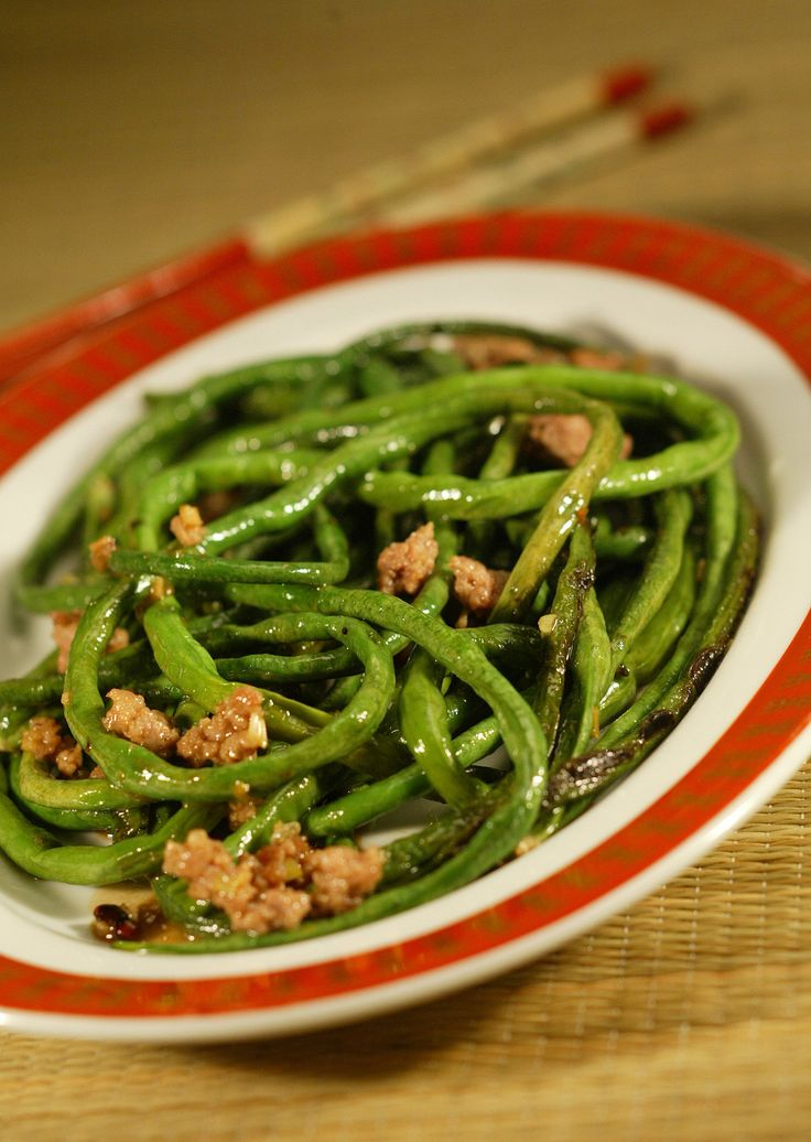 sichuan dry fried green beans sichuan dry fried green or sichuan dry ...