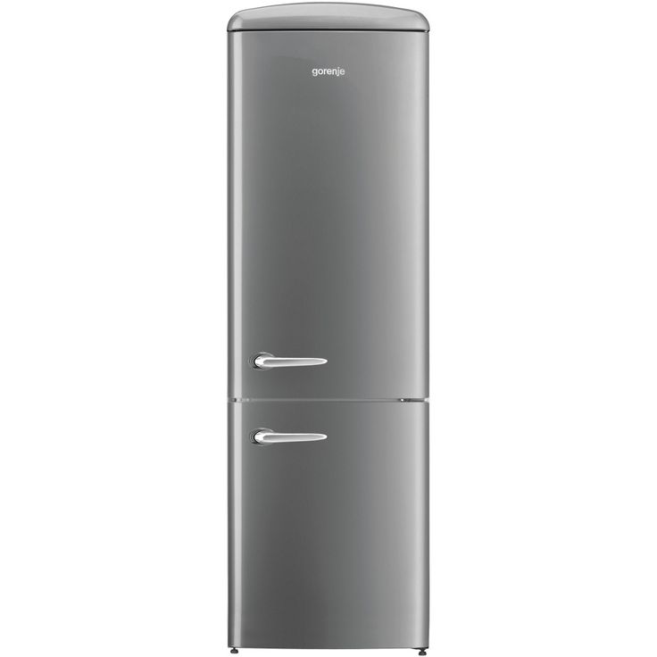 Gorenje ORK193X Retro Fridge Freezer - Silver In its sleek and stylish silver finish, the Gorenje ORK193X has a classic retro look in which it will look great in any kitchen. For all your shopping needs, the total net storage is 322 litres which  http://www.MightGet.com/february-2017-2/gorenje-ork193x-retro-fridge-freezer--silver.asp