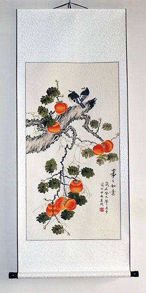 Asian art ancient chinese scrolls