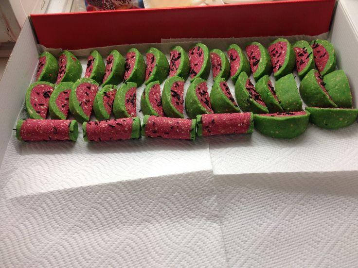 Dinnye /édesség/ szeletelve: almaszeletelővel