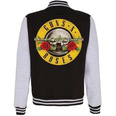 Geaca varsity Guns N Roses: Logo