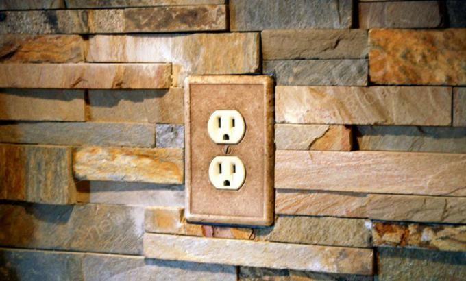 Ochre Blend Stone Panels Norstone Usa Dream Home