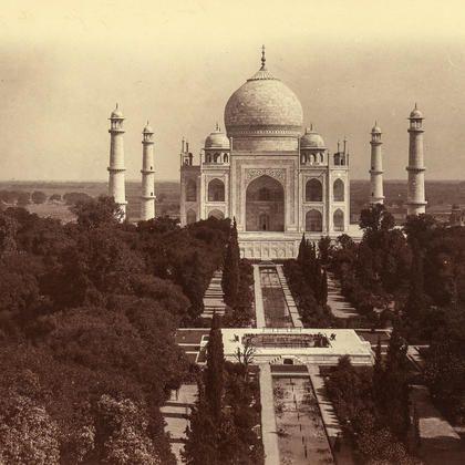 Taj Mahal 1858 circa