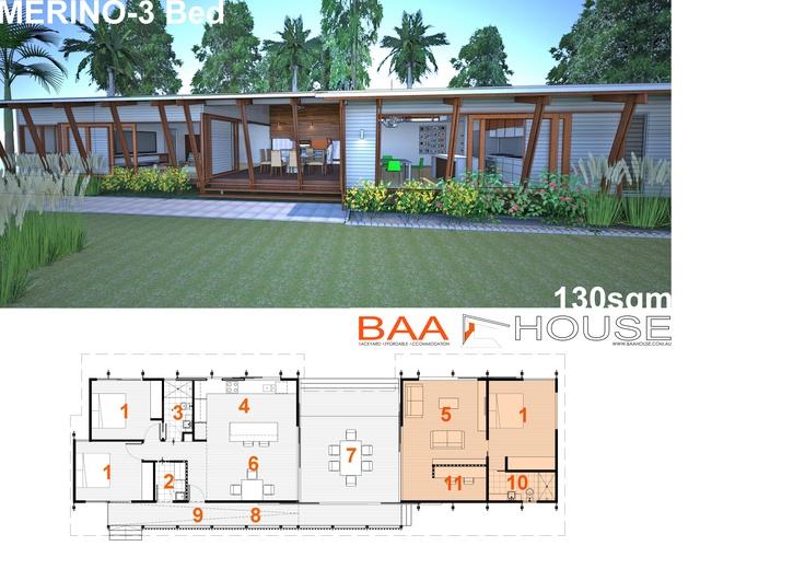 Merino- 3bed room house
