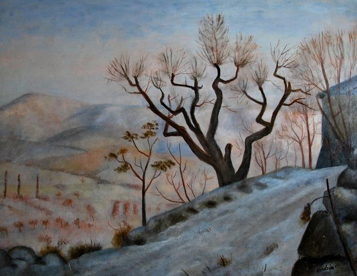 Othon Coubine, Zima v Provenci