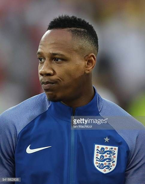 Nathaniel Clyne of England looks on during the UEFA EURO 2016 Group B match between Slovakia v England at Stade GeoffroyGuichard on June 20 2016 in...