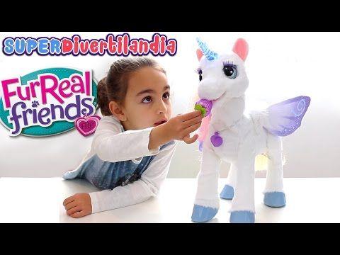 Starlily, el Unicornio Mágico de FurReal Friends - Star Lily Magical Unicorn - YouTube