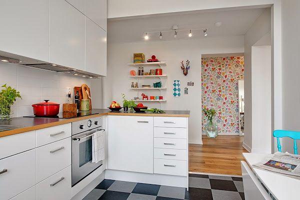 15 Cocinas Requete-chulas...damos en el Blanco | Decorar tu casa es facilisimo.com
