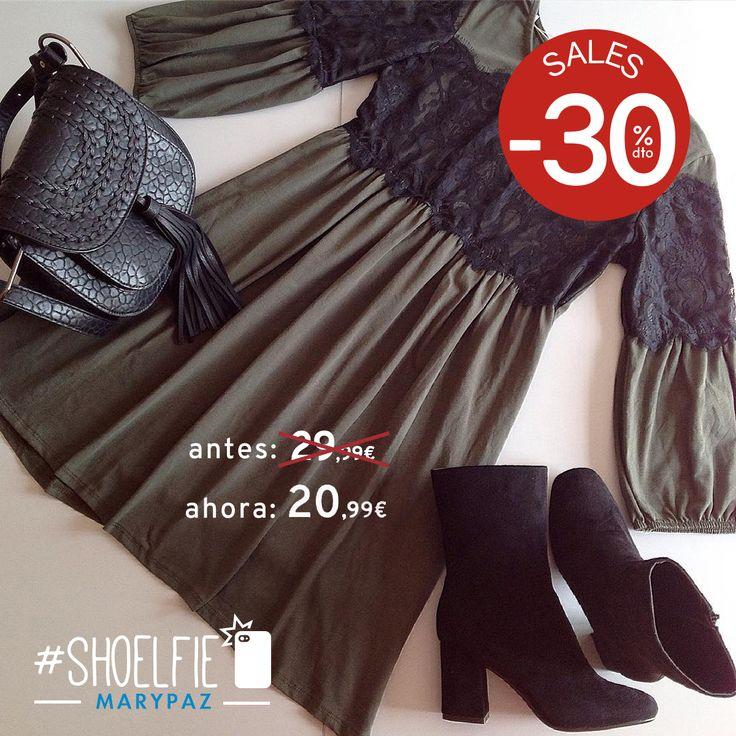 HASTA 50% DTO.¡¡REBAJAS MARYPAZ!! En tiendas físicas y online  ¡¡Os proponemos este look tan preppy para celebrar el tan esperado viernes!! #Shoelfie by El Armario De LAURA  Hazte con este BOTÍN aquí ►http://www.marypaz.com/woman/botin/botin-bloque-0135616i5085-75094.html  #SoyYoSoyMARYPAZ #Follow #winter #love #fashion #colour #tendencias #marypaz #locaporlamoda #BFF #igers #moda #zapatos #trendy #look #itgirl #invierno #AW16 #igersoftheday #girl  **Promoción válida desde el 07 de enero.