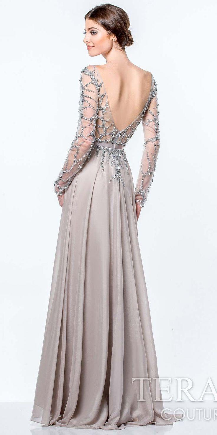 Stunning Silver Wedding Dress