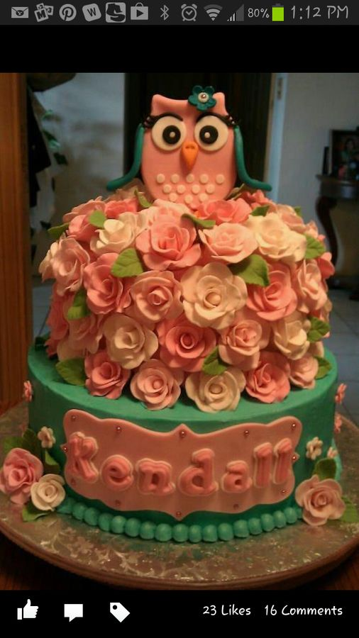 Edible Cake Image Owl : 124 best images about Owl Birthday on Pinterest Owl ...