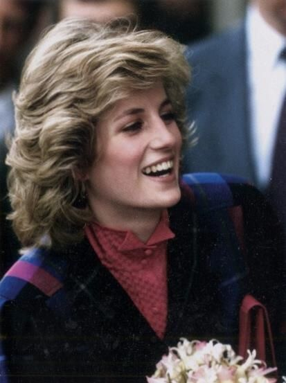 Diana, Princess of Wales February 1984 visits Dr Barnado's HQ in London