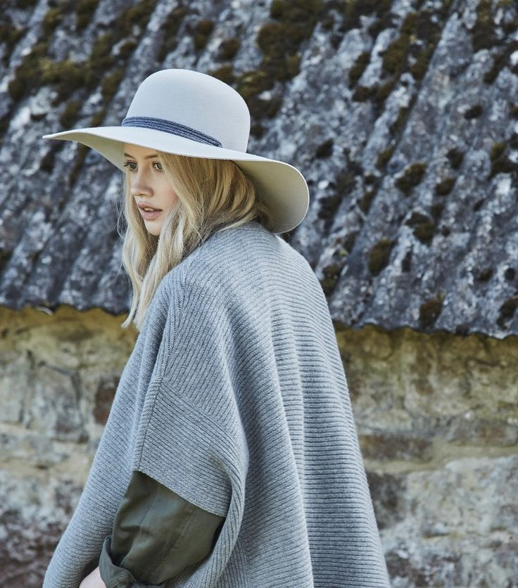 Penmayne of London hats | Winter's Mood | Stone Tiggy with Rope Band