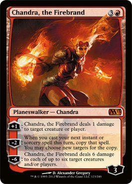 Magic: the Gathering - Chandra, the Firebrand (123) - Magic 2013 (bestseller)