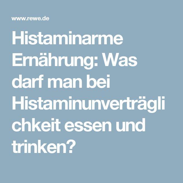 Histaminarme Ernährung: Was darf man bei Histaminunverträglichkeit essen und trinken?