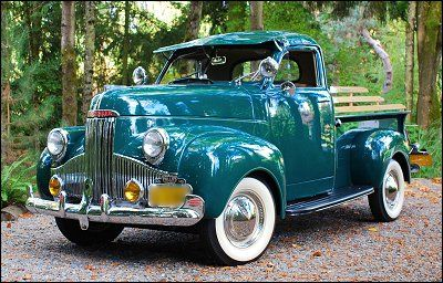 Studebaker truck...looking good!