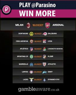 UEFA Europa League    ⚽️ MATCHDAY!! ⚽️    Which game will provide the most excitement?    #UEL 🗓️➡️#parasino  https://www.parasino.com/ https://panel.socialpilot.co/site/video/1zO4zh9zgnzt41N2zg4ze7za5zUnzf