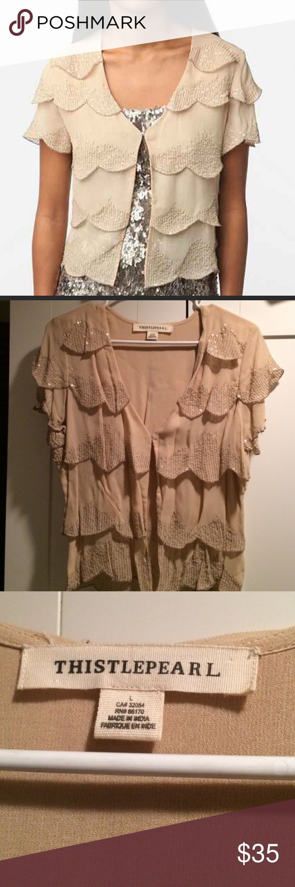 Urban outfitters top Thistlepearl Halcyon Cardigan - sold out online! Urban Outfitters Tops Blouses