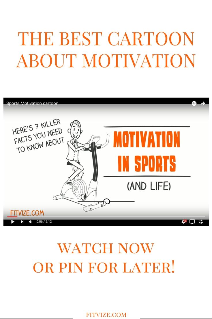 Watch this cartoon and you'll know all the essentials about motivation! https://www.youtube.com/watch?v=LlX_RDYyopQ