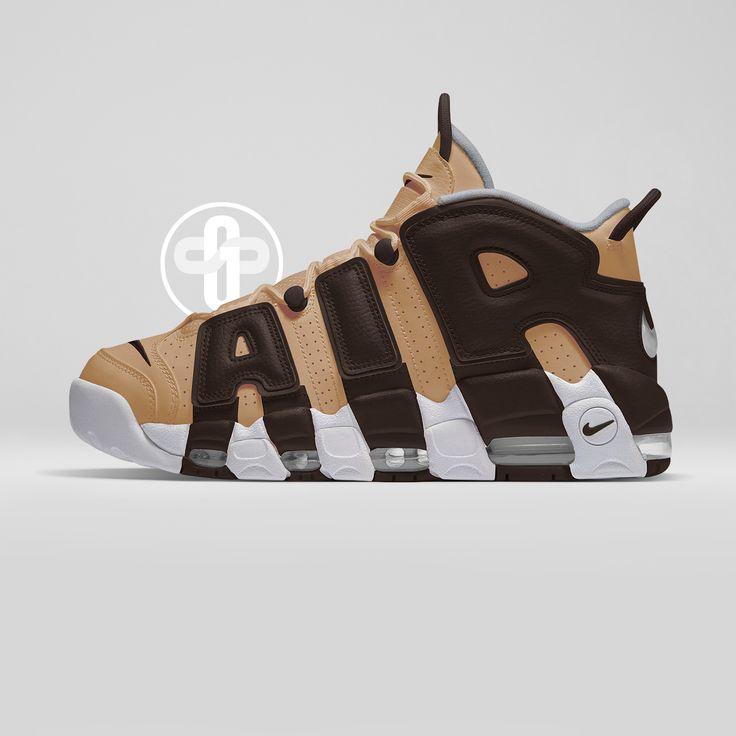 Nike Air More Uptempo Vachetta Tan