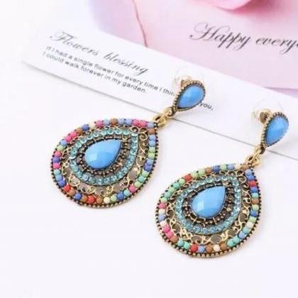 Fashion Women Boho earrings, Bohemi..