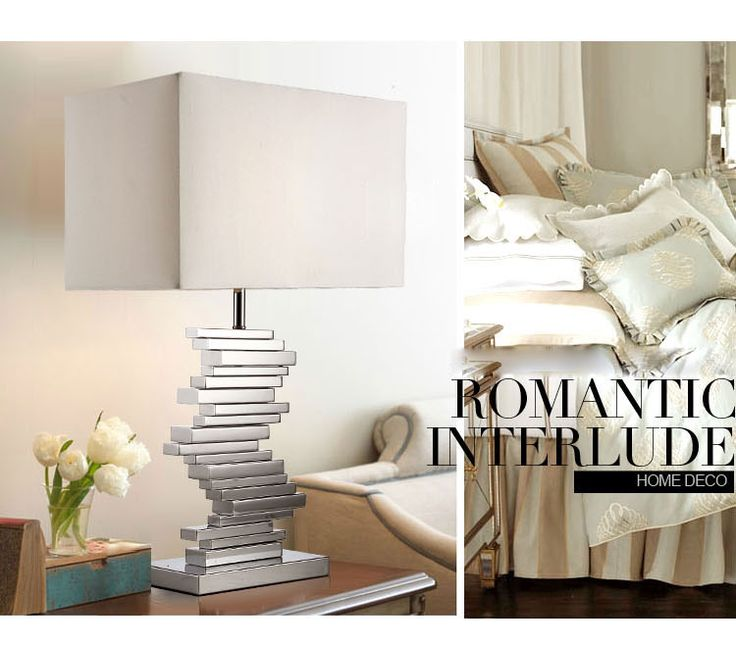 Современная краткое лампа гостиная огни спальня настольная лампа отель настольная лампа 30067 купить на AliExpress